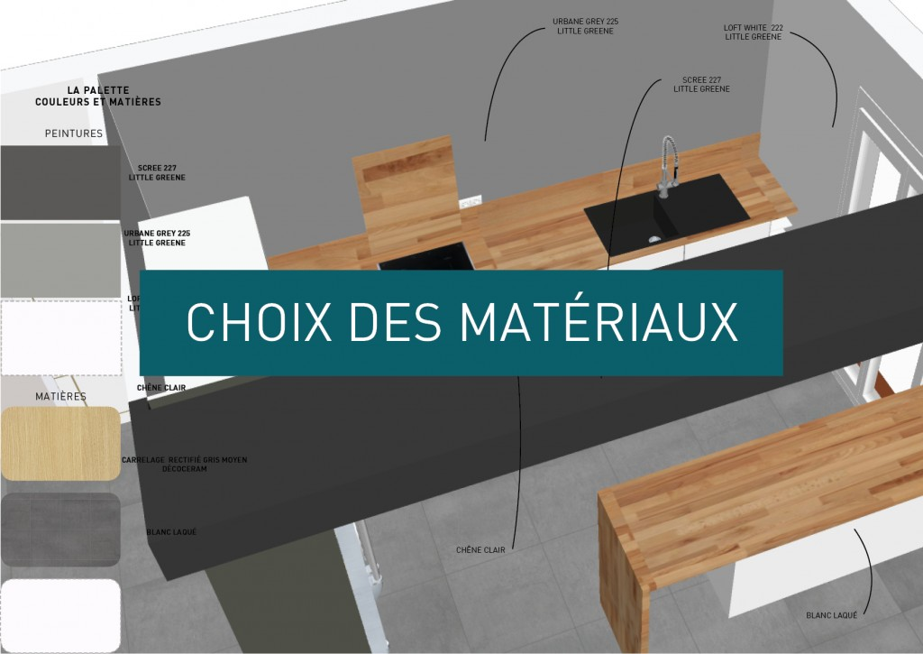 selection repartition des materiaux architecture interieure toulouse