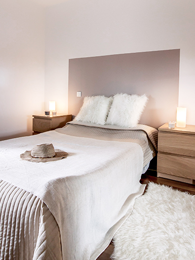 home staging dun appartement toulousain zen cocooning clair tendance emilie peyrille epespace design